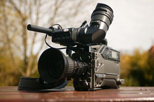 Television Camera, Camera, Broadcast, Video