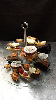 Cakes, Cakes On Stand, Afternoon Tea, Food, Cakestand