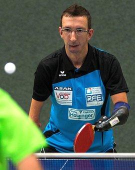 Table Tennis, Ping-pong, Amputees, Championship
