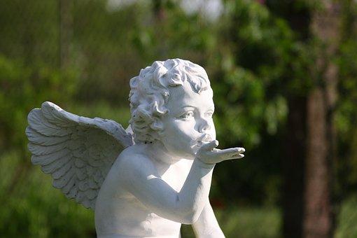 Angel, The Figurine, Statue, Cherub, Ornament