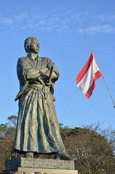 Japan, Sakamoto Ryoma, Chojiro, Dragon Horse Statue