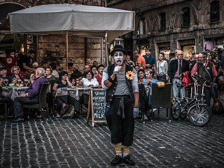 Clown, Artist, Circus, Artistic, Costume, Hat, Creative