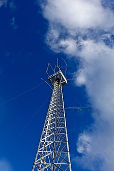 Tower, Communications, Wireless, Antenna, Broadcasting