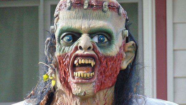 Halloween, Halloween Mask, Mask, Costume, Frightening
