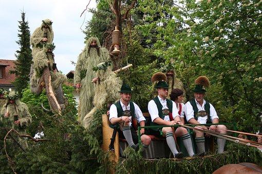 Costumes, Customs, Tradition, Bavarian, Bavaria