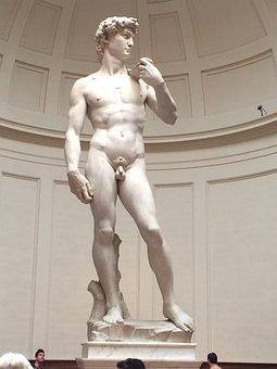 David, Statue, Sculpture, Florence