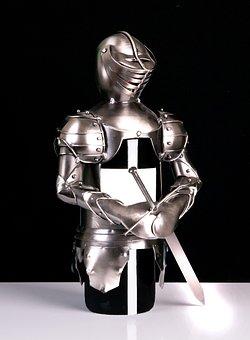 Knight, Wine Bottle, Beverages, Decoration, Gastronomy