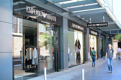 Armani Store, Designer Boutique, Perth, Australia