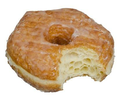 Donut, Crescent, Donuts, Pastry, Dessert, Icing Sugar