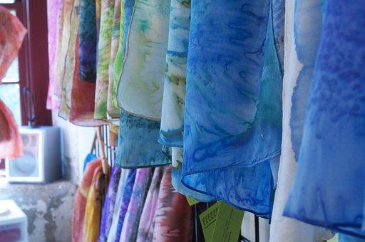 Fabrics, Colour, Textile, Fabric Background