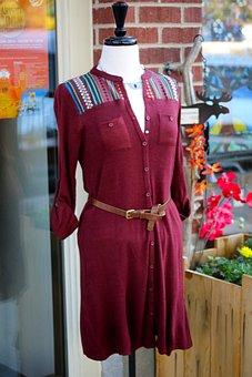 Mannequin, Dress, Shop, Fashion, Female, Clothing