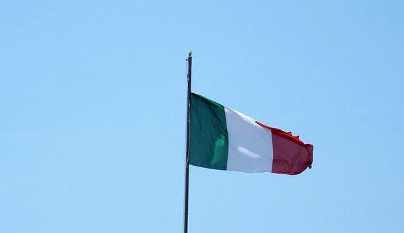 Flag, Italy, Flutter, Italian Flag