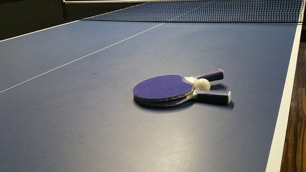 Tennis, Ping, Pong, Ball, Game, Play, Leisure