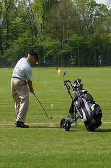 Sport, Golf, Golfer, Golf Clubs, Tee, Golf Carts, Caddy