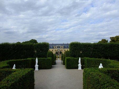 Hanover, Herrenhäuser Gardens, Garden, Orangery, Park