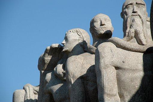 Paulo, Brasil, City, Monument, Imigrantes, Brazil, Sao