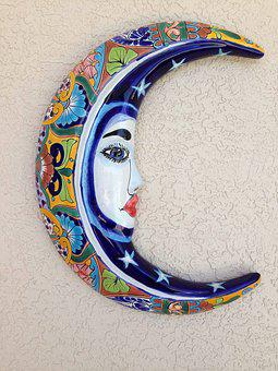 Moon, Pottery, Crescent, Artisan
