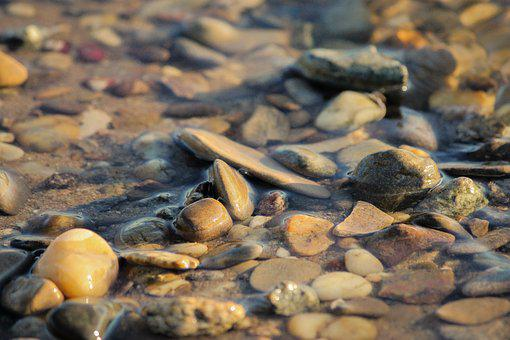 Stones, Bach, Water, River, Nature, Flow, Stream Bed