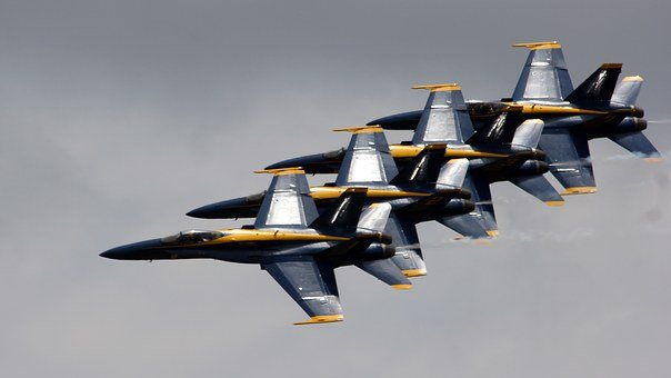 Jets, Blue Angels, Sky, Navy, Aircraft, Military, Fly