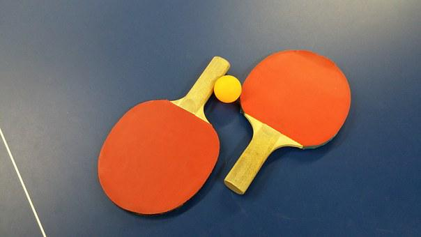 Ping Pong, Table Tennis, Sport