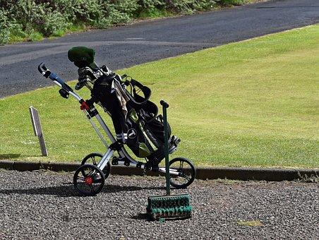 Golf, Golf Course, Putting Green, Golf Clubs, Golf Bag