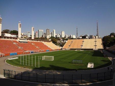 Football Stadium, Pacaembu, São Paulo