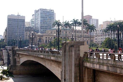São Paulo, Anhangabaú, Tea Viaduct, Old Center