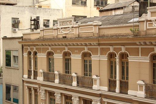 Building, History, Center, São Paulo, Social Security