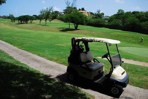 Golf, Car, Cart, Sport, Outdoor, Club