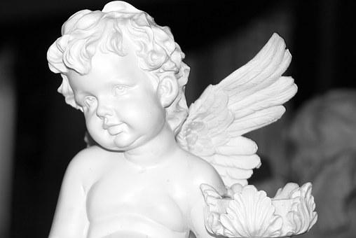 Angel, Angel Face, Wing, Decoration, Sweet, Small