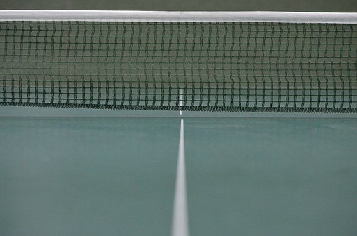 Table Tennis, Ping-pong, Network, Table Tennis Net