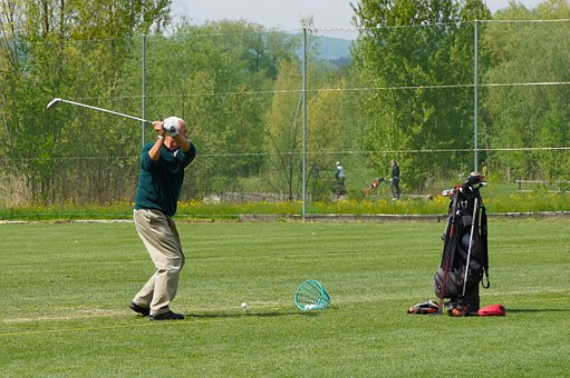 Sport, Golf, Golfer, Teeing Ground, Golf Clubs