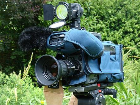 Television Camera, Broadcast Camera, Camera