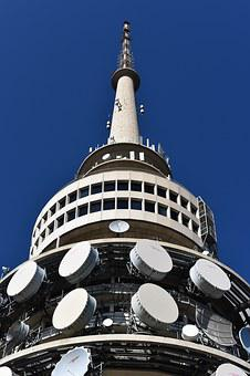 Canberra, Telstra, Blue Sky, Tower, Capital, Australia