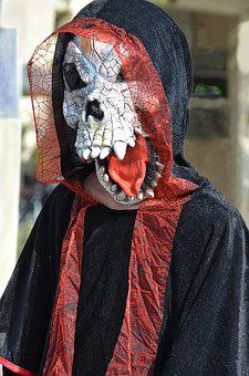 Haloween, Mask, The Fear, Skull, Costume, Scary