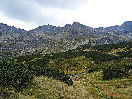 Landscape, Mountains, Nature, Tatry, Top View, Tourism