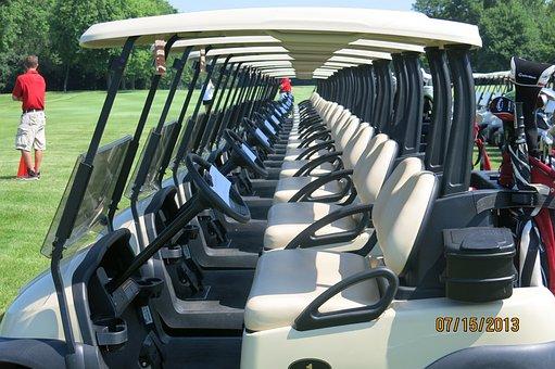 Golf, Carts, Tournament, Cart, Sport, Club, Game