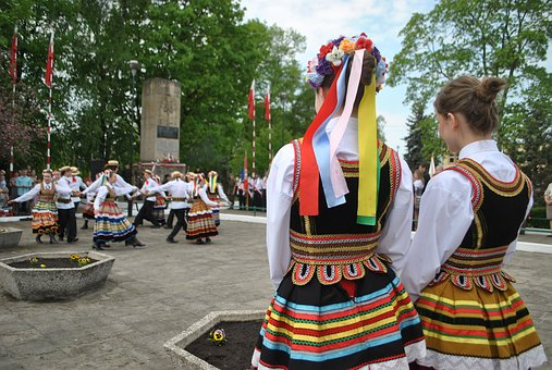 Poland, National, Wisznice, Dance, Traditional, Costume