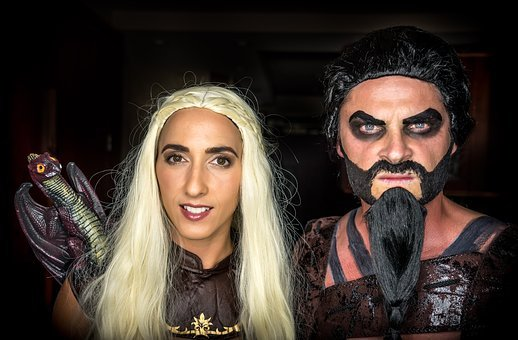 Halloween, Costume, Party, Black, Spooky, Trick, Treat