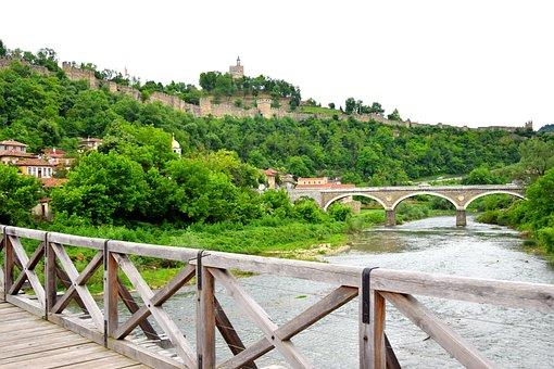 Castle, Tsarevets, Veliko Tarnovo, Landscape, Bulgaria