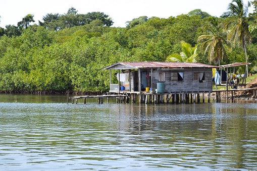 Panama, Caribbean, Sea, Nature, Water, Exotic, Hut