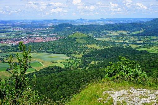 Swabian Alb, Weilheim At Teck, Limburg, Height Burg
