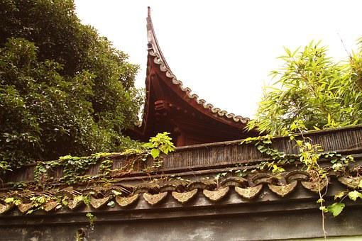 The Grand View Garden, Eaves Tile, Ancient Architecture