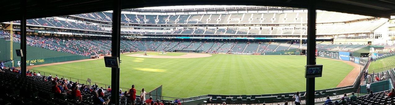Baseball, Stadium, Panorama, Baseball Stadium