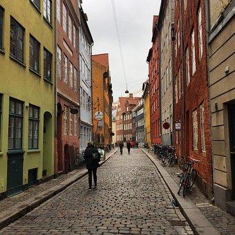 Copenhagen, Magstræde, Denmark, Old Town