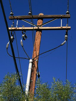 Power, Pole, Electricity, Electric, Cable, Wire