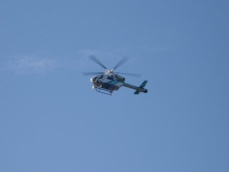 Police Helicopter, Helicopter, Fly, Aircraft