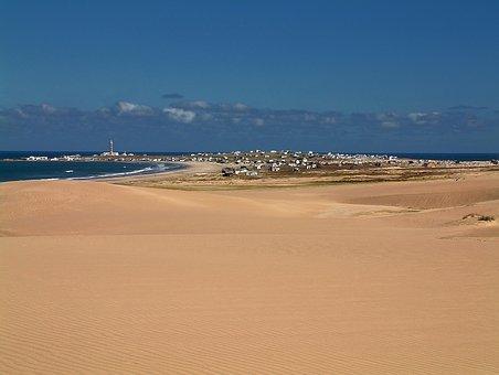 Uruguay, Polonium Out, Dunes, Beach, Holiday, Landscape