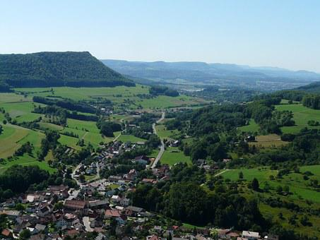 Swabian, Alb, Alb Eaves, Measuring Elbe Erg, Mountain