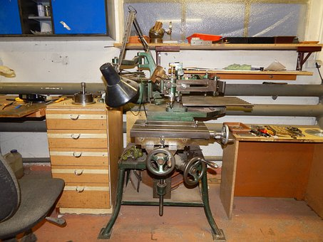 Grawerska Machine, Grawerka, Machining, Milling